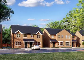 Thumbnail 3 bed semi-detached house for sale in Aspen Court, Longworth Road, Hemsworth, West Yorkshire
