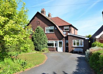 3 bed semi-detached house for sale in Chester Road, Grappenhall, Warrington WA4