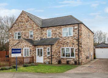 Thumbnail 3 bedroom semi-detached house for sale in Oak Tree Meadow, Horncastle, Lincs