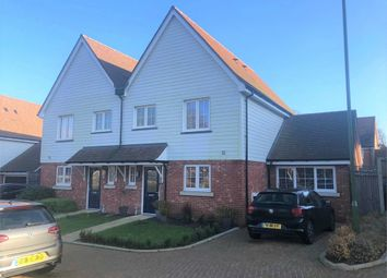 Thumbnail 3 bed semi-detached house for sale in Newick Way, East Grinstead, West Sussex