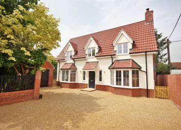 Thumbnail 4 bed detached house for sale in London Road, Capel St Mary, Ipswich