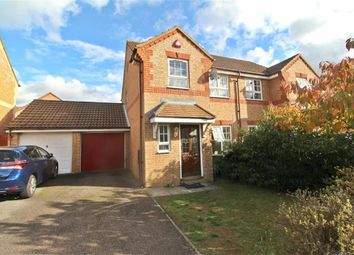 Thumbnail 3 bed semi-detached house to rent in Wardle Place, Oldbrook, Milton Keynes