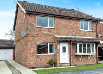 Thumbnail 2 bed semi-detached house for sale in Loxley Close, York