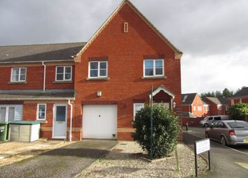 Thumbnail 1 bed end terrace house to rent in Lewis Crescent, Exeter
