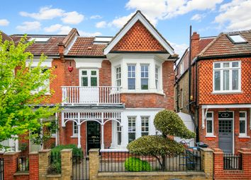 Thumbnail 5 bed semi-detached house to rent in Burnaby Crescent, London