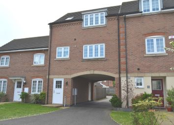 Thumbnail 3 bed town house for sale in Threadcutters Way, Shepshed, Loughborough