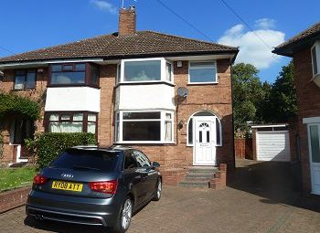 Thumbnail 3 bed semi-detached house to rent in Denise Drive, Harborne, Birmingham