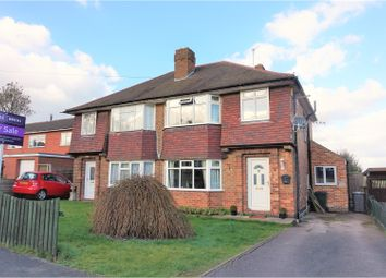 Thumbnail 3 bedroom semi-detached house for sale in Medina Drive, Tollerton