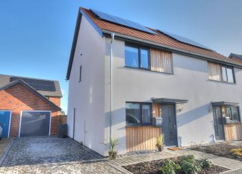 Thumbnail 2 bed semi-detached house for sale in Hopsack Road, Norwich