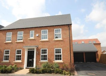 "Thumbnail 4 bed detached house for sale in ""Chelworth"" at Forest House Lane, Leicester Forest East, Leicester"