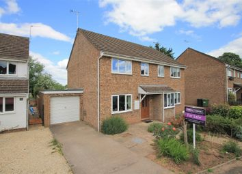Thumbnail 3 bed semi-detached house for sale in St. Peters Close, Hereford