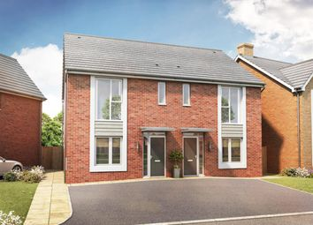 Thumbnail 3 bed semi-detached house for sale in Campden Road, Long Marston, Stratford-Upon-Avon