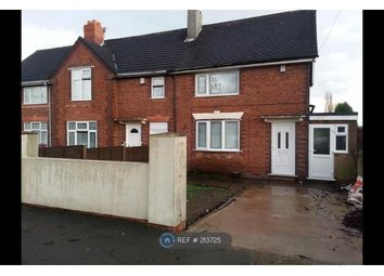 Thumbnail 3 bedroom end terrace house to rent in Hunter Cresent, Walsall