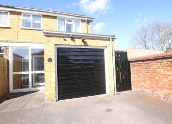Thumbnail 3 bed semi-detached house to rent in Victory Road, Chertsey