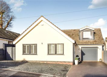 Thumbnail 4 bed detached bungalow for sale in Windmill Rise, Woodhouse Eaves, Loughborough