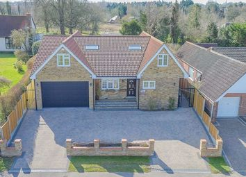 Thumbnail 5 bed detached house for sale in Harlow Road, Roydon, Harlow