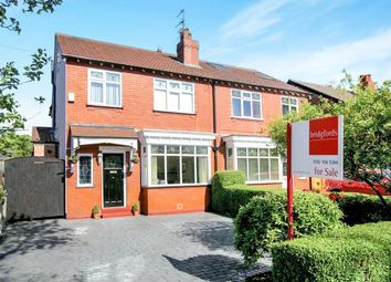 Thumbnail 4 bed semi-detached house for sale in Glenwood Grove, Woodsmoor, Stockport, Cheshire