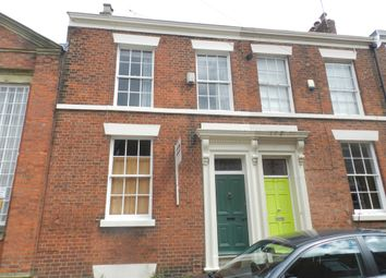 Thumbnail 3 bed town house for sale in Regent Street, Preston