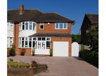 Thumbnail 3 bed semi-detached house for sale in Birmingham Road, Lichfield
