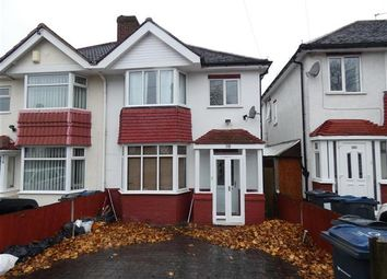Thumbnail 3 bed semi-detached house to rent in Duncroft Road, Yardley, Birmingham