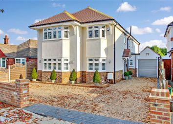 Thumbnail 4 bedroom detached house for sale in Wansunt Road, Bexley, Kent