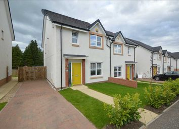 Thumbnail 3 bed semi-detached house for sale in Lady Nancy Crescent, Blantyre, Glasgow