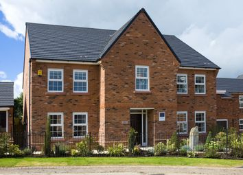 "Thumbnail 5 bed detached house for sale in ""Glidewell"" at Wright Close, Whetstone, Leicester"