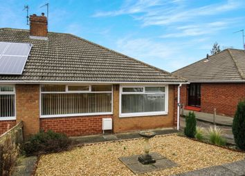 Thumbnail 2 bed semi-detached bungalow for sale in Hollywalk Avenue, Normanby, Middlesbrough