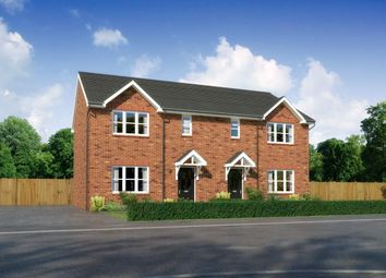 "Thumbnail 3 bed semi-detached house for sale in ""Caplewood"" at Padgbury Lane, Congleton"