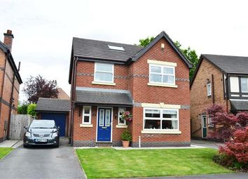 Thumbnail 4 bed detached house for sale in Langford Drive, Leigh