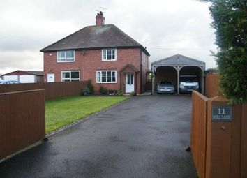 Thumbnail 3 bed semi-detached house for sale in Mill Lane End, Mill Lane, Blakenhall, Nantwich