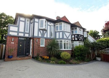 Thumbnail 4 bed semi-detached house for sale in Beverley Way, Raynes Park, London