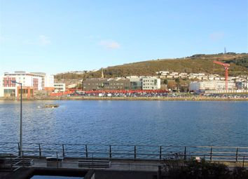 Thumbnail 1 bed flat for sale in South Quay, Kings Road, Marina, Swansea
