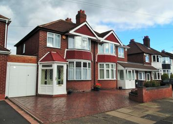 Thumbnail 3 bedroom semi-detached house for sale in Yateley Avenue, Great Barr