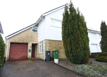 Thumbnail 4 bed detached house to rent in Millrace Close, Cardiff