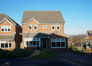 Thumbnail 4 bed detached house for sale in Wesley Lea, Consett