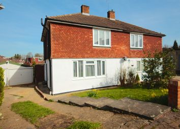 Thumbnail 3 bed semi-detached house for sale in Becketts Close, Orpington