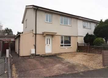 Thumbnail 3 bed semi-detached house for sale in Shakespeare Avenue, Taunton