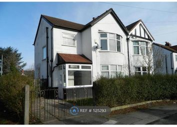 Thumbnail 3 bed semi-detached house to rent in Scarisbrick Road, Manchester