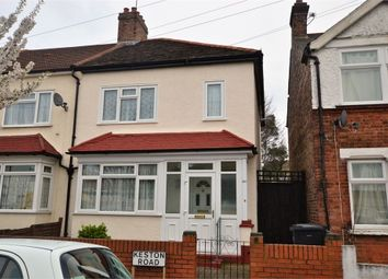 Thumbnail 3 bed end terrace house for sale in Keston Road, Thornton Heath