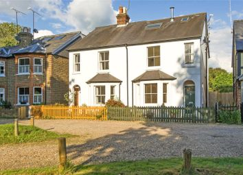 Thumbnail 3 bedroom semi-detached house for sale in Portsmouth Road, Cobham, Surrey