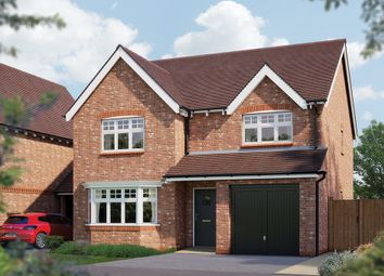 "Thumbnail 4 bed detached house for sale in ""The Winsford"" at Crewe Road, Haslington, Crewe"