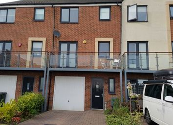 Thumbnail 3 bed town house to rent in Prendwick Avenue, Great Park, Newcastle Upon Tyne
