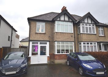 Thumbnail 3 bed semi-detached house for sale in Kingsdowne Road, Surbiton, Surrey.