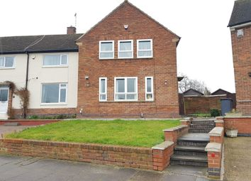 Thumbnail 3 bed semi-detached house for sale in Davenport Road, Goodwood, Leicester