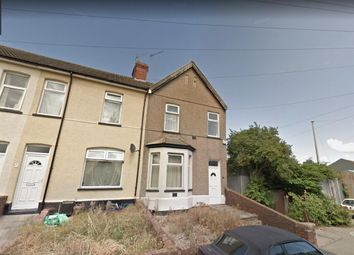 Thumbnail 3 bedroom end terrace house for sale in Libeneth Road, Newport