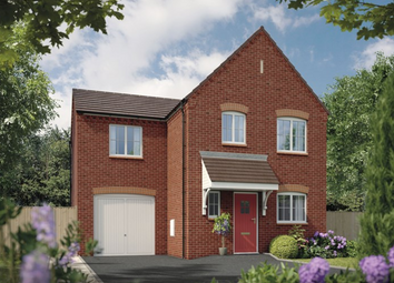 Thumbnail 3 bed detached house for sale in Burton Road, Ashby De La Zouch