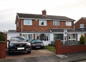 Thumbnail 3 bed semi-detached house for sale in Brinkburn Gardens, Choppington