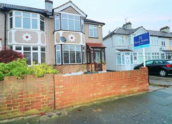 Thumbnail 3 bed semi-detached house to rent in Belgrave Avenue, Gidea Park, Romford