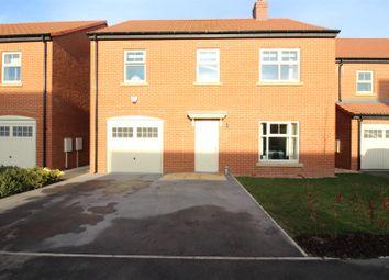 Thumbnail 4 bed detached house for sale in Fairfield Link, Sherburn In Elmet, Leeds